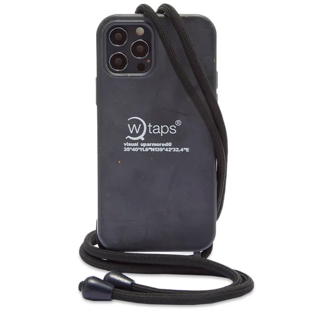 WTAPS Bumber iPhone Case - Black