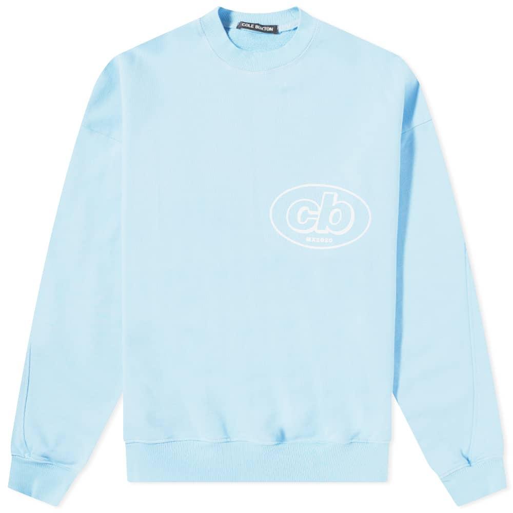 Cole Buxton MX Logo Crew Sweat - Sky Blue