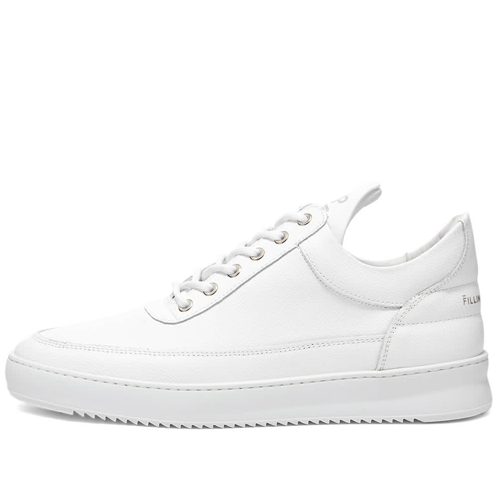 Filling Pieces Low Top Ripple Crumbs Sneaker - White