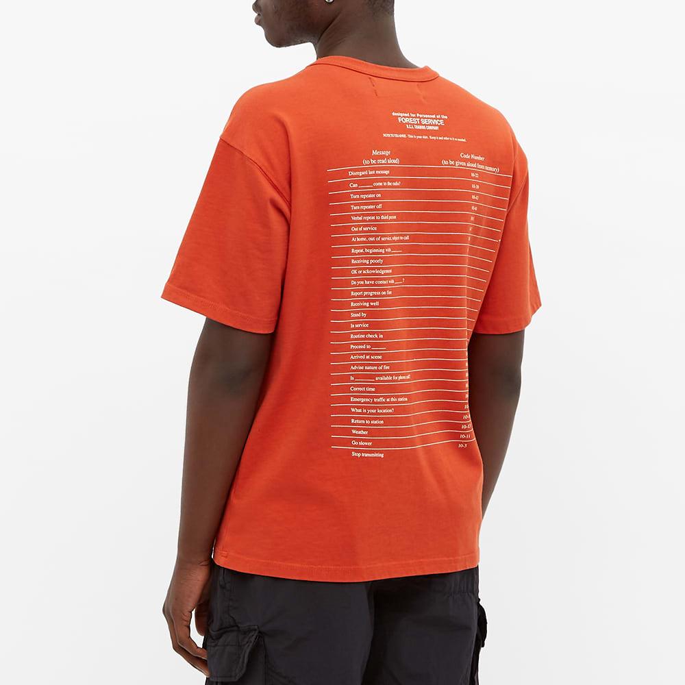 Reese Cooper Code Numbers Tee - Orange