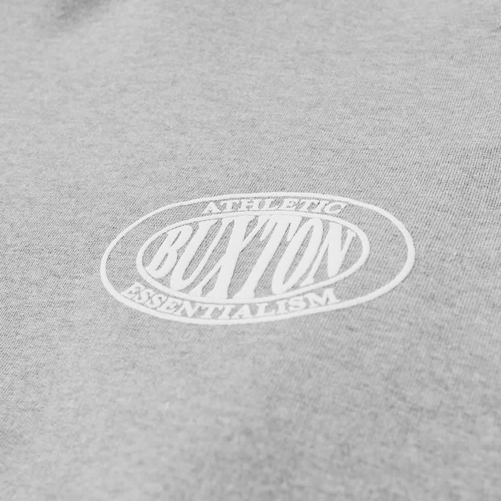 Cole Buxton Athletic Logo Gym Hoody - Grey Marl