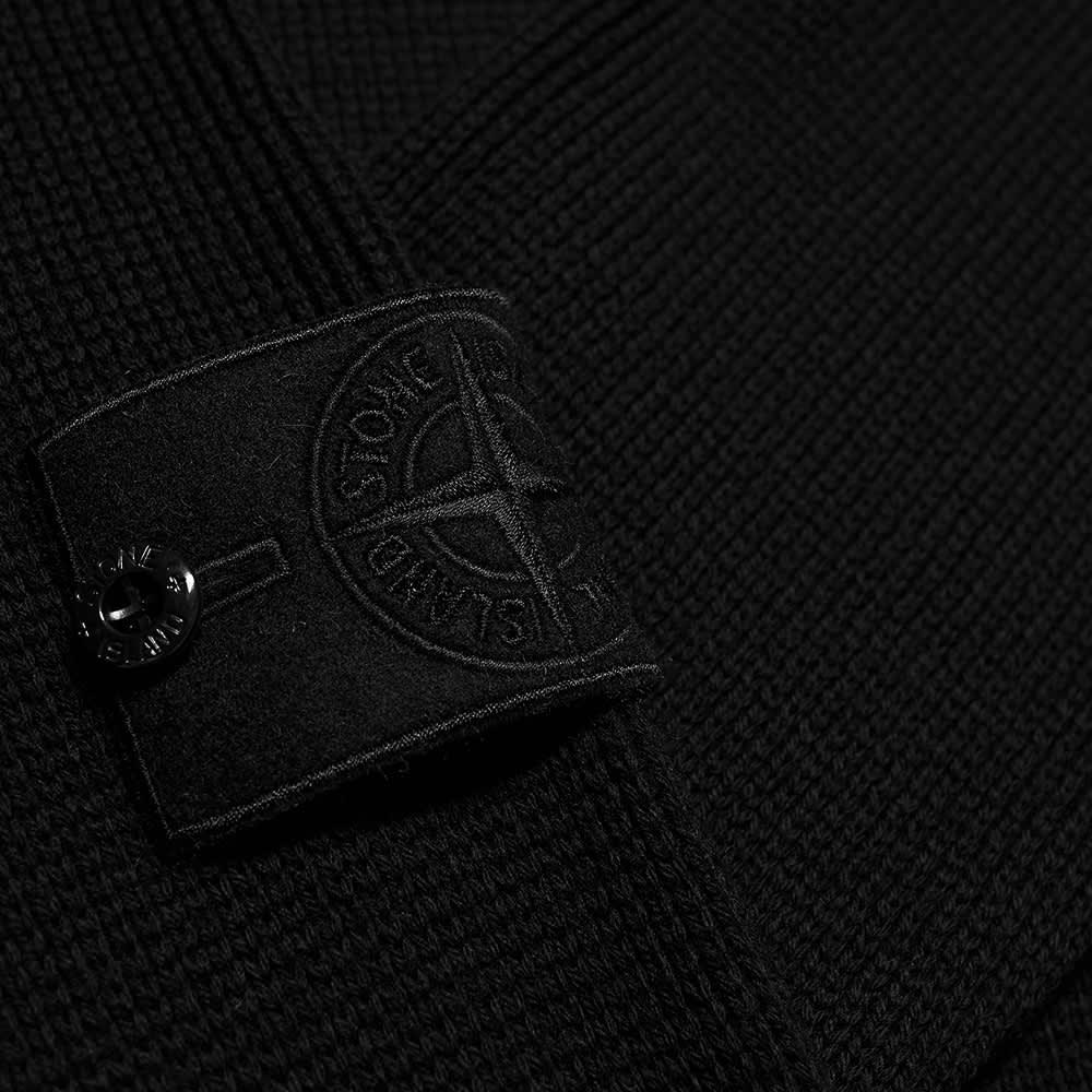 Stone Island Ghost Crew Knit - Black