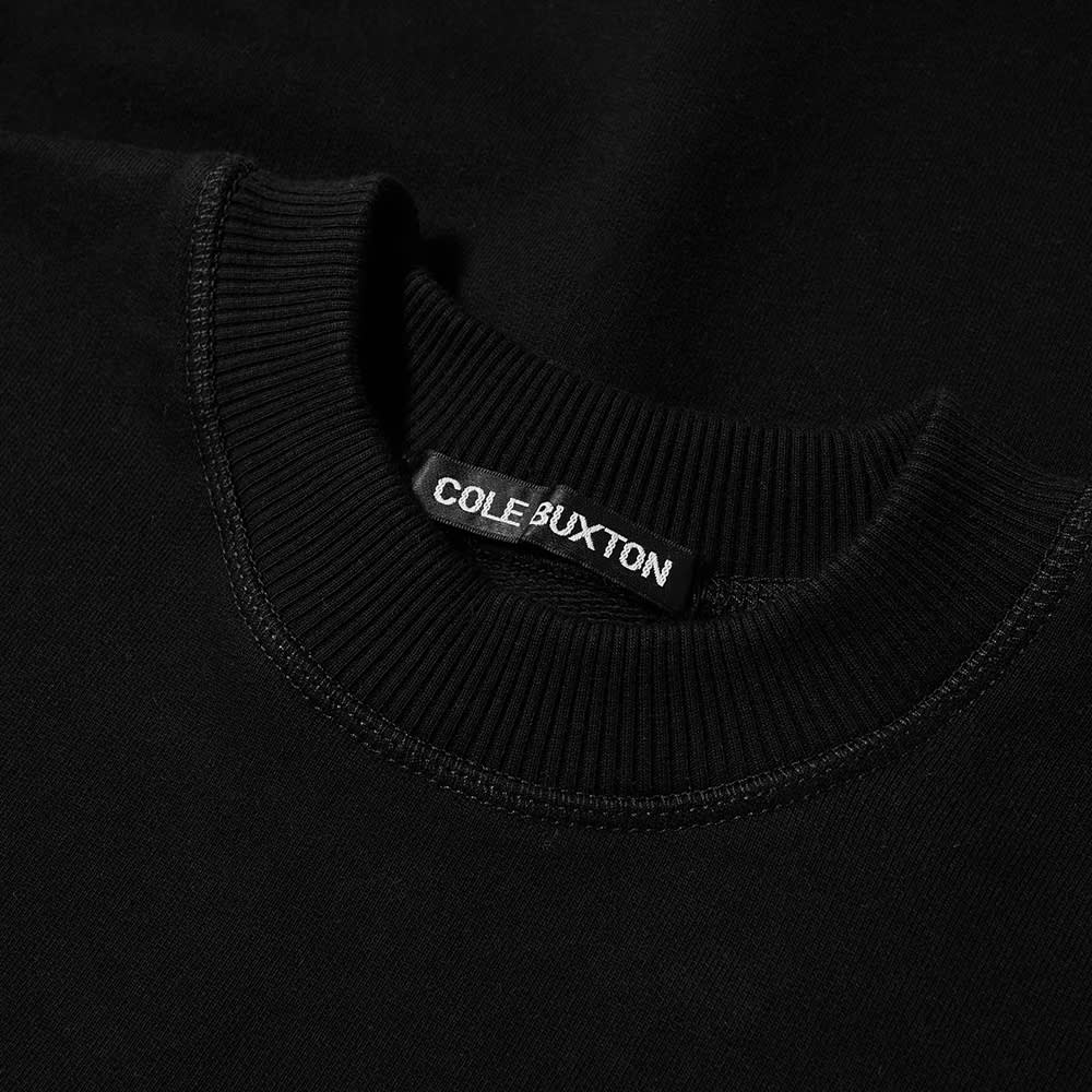 Cole Buxton Warm Up Crew Sweat - Black