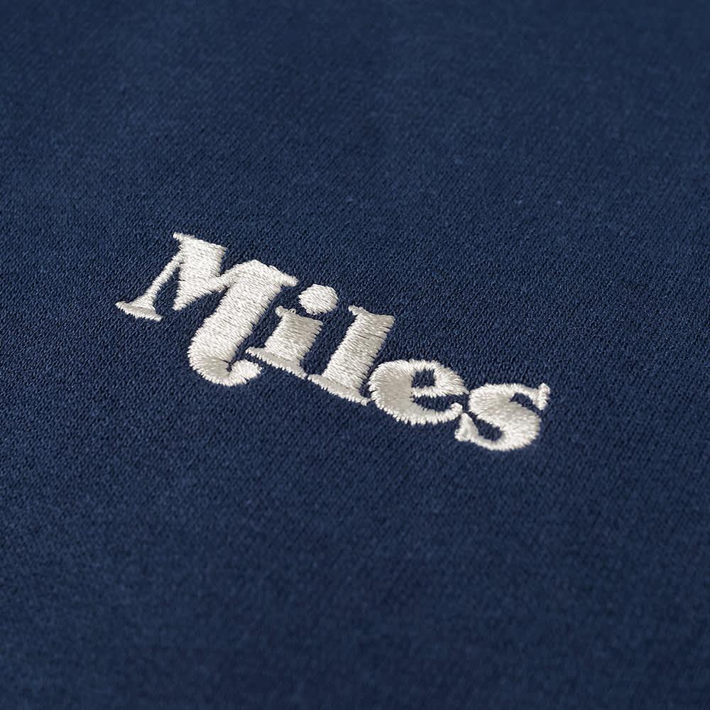 Miles Classic Logo Hoody - Navy
