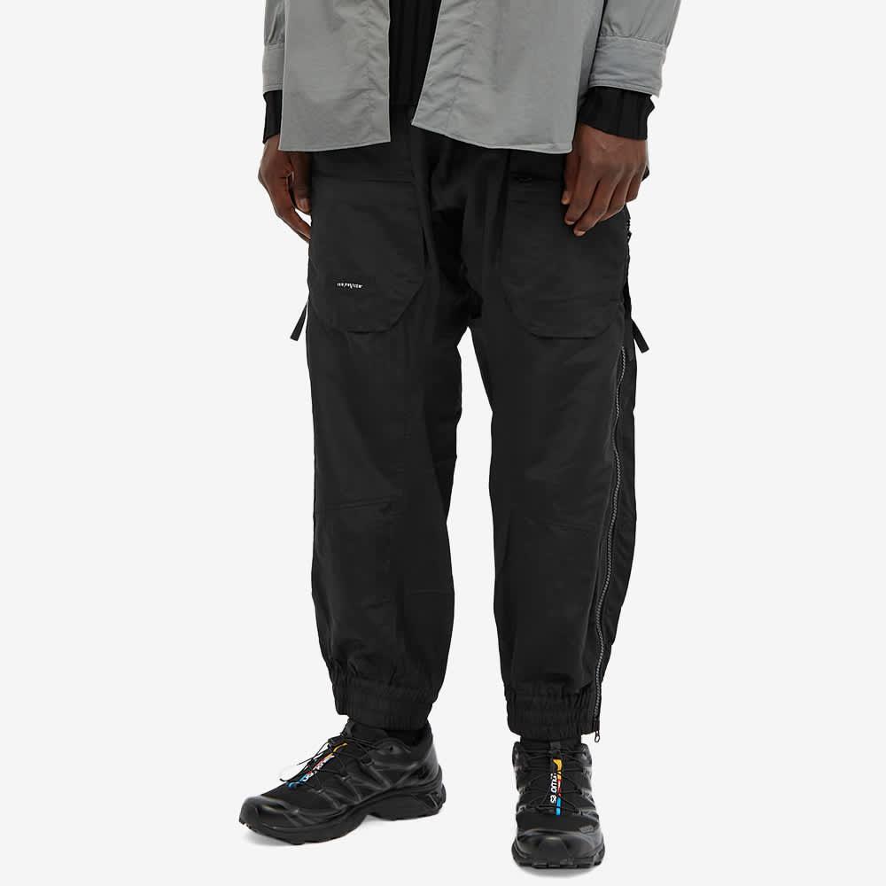 Tobias Birk Nielsen Drop Crotch Zip Tech Pant - Black