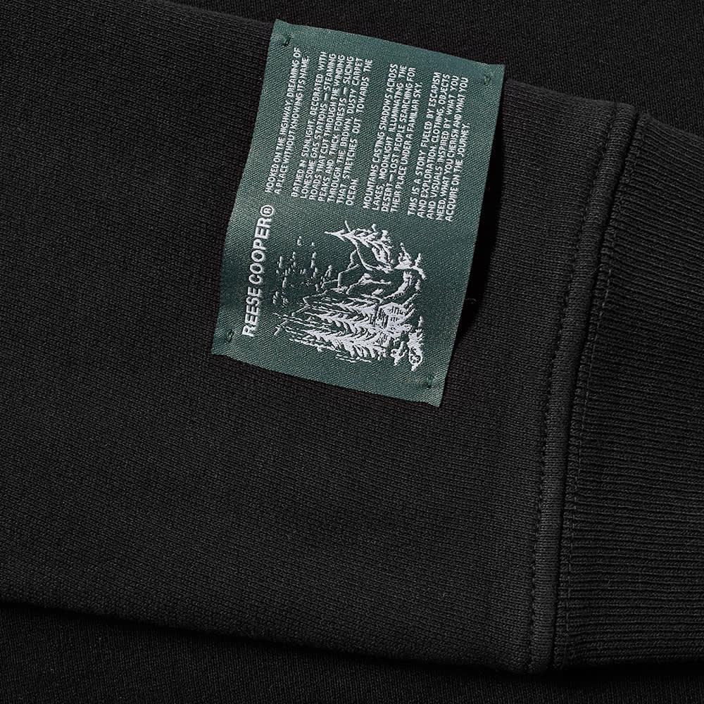 Reese Cooper RCI Embroidered Logo Sweat - Black