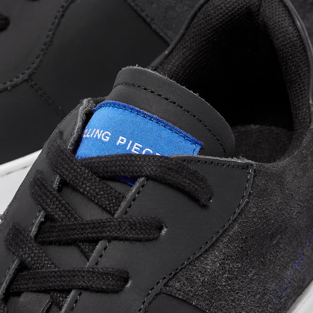 Filling Pieces Low Plain Court 683 Organic Sneaker - Organic Black