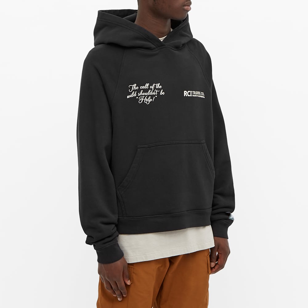 Reese Cooper Call Of The Wild Popover Hoody - Black