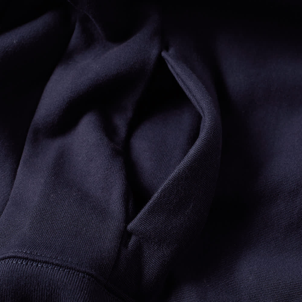Paul Smith Side Logo Zip Hoody - Navy
