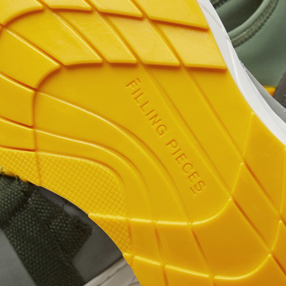 Filling Pieces Inner Circle Sneaker - Model Shark Army Green