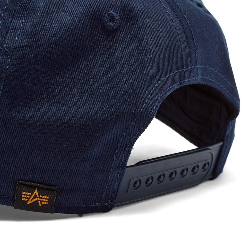 Alpha Industries NASA Cap - Replica Blue