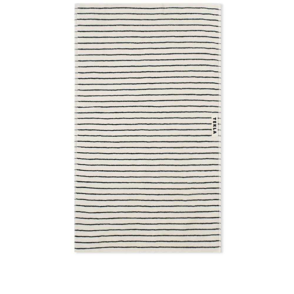 Tekla Fabrics Organic Terry Hand Towel - Racing Green