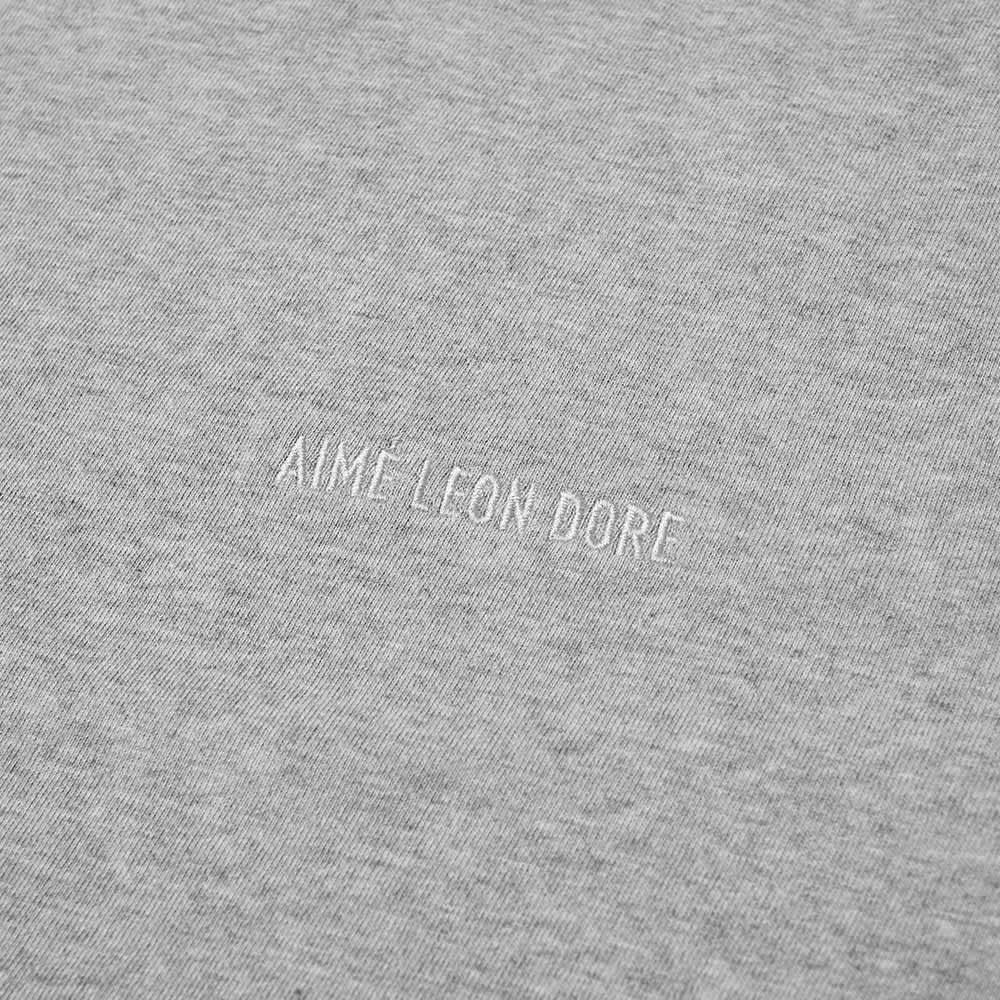 Aimé Leon Dore Tonal Logo Tee - Heather Grey
