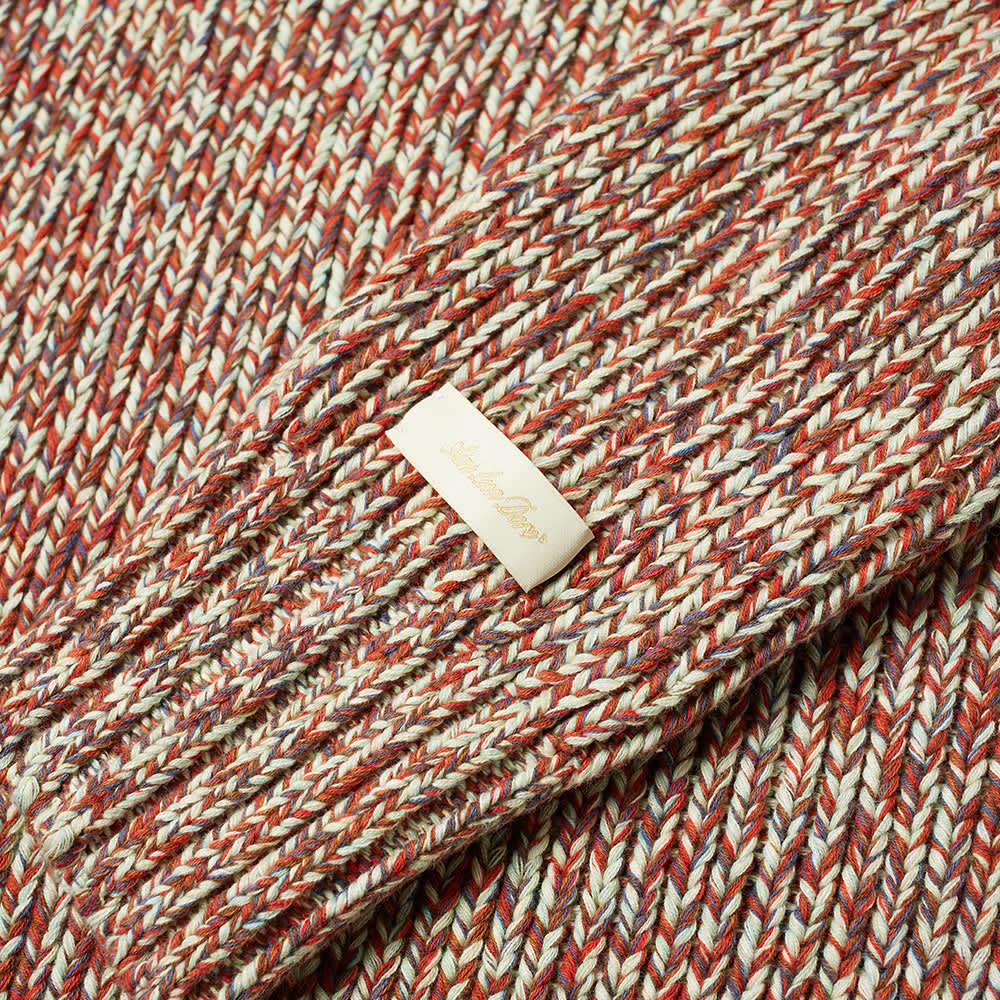 Aimé Leon Dore Marled Raglan Sweater - Green Multi