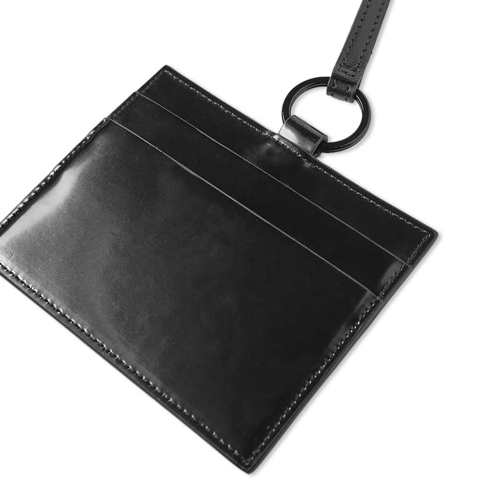 Palm Angels Logo Neck Card Holder - Black