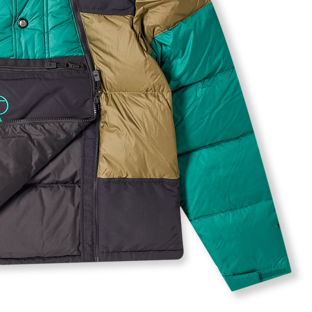 The North Face Steep Tech Down Jacket - Olive, Evergreen & TNF Black