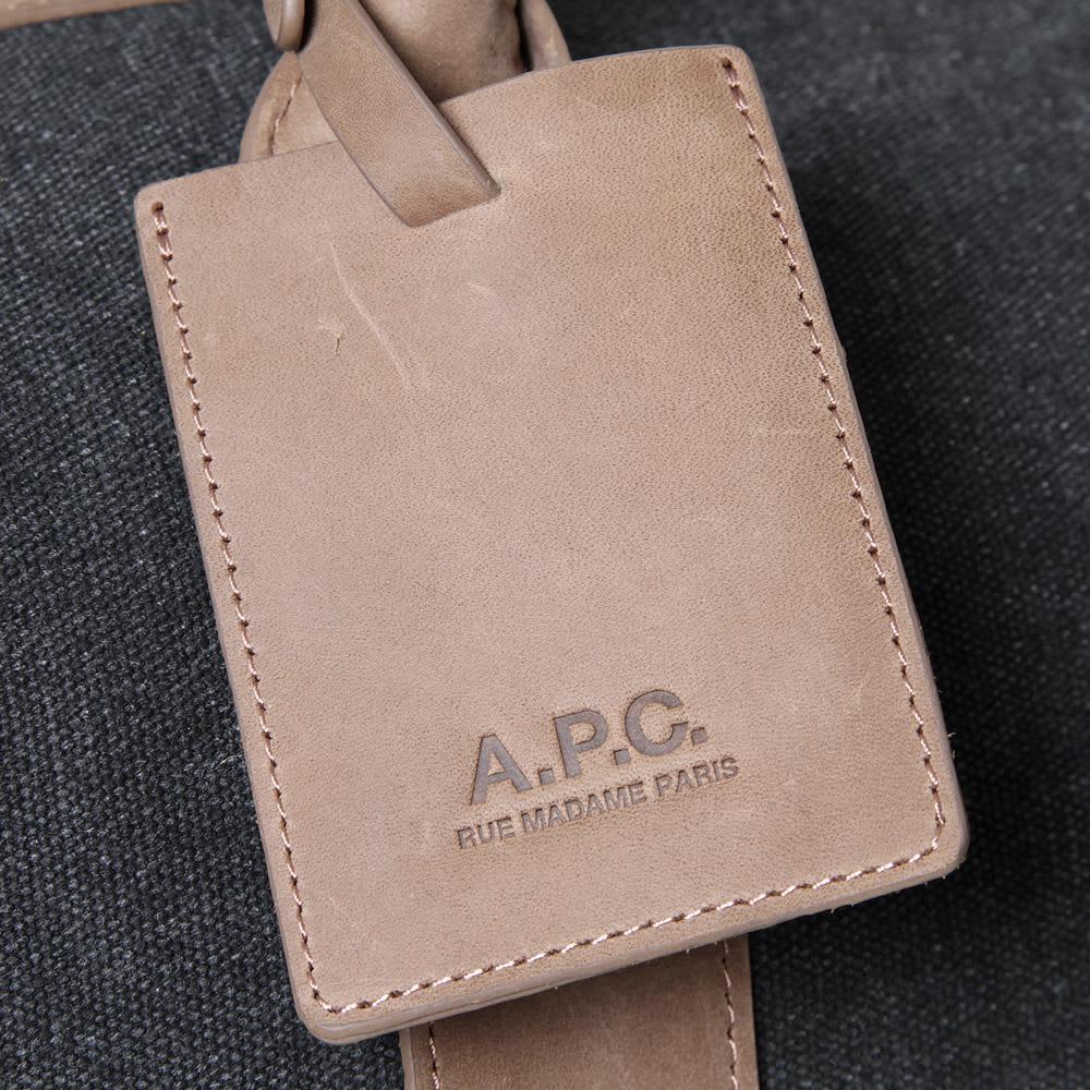 A.P.C Travel Bag - Black