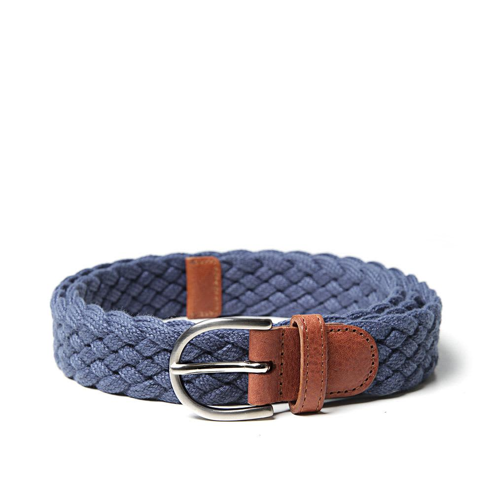 A.P.C. Woven Cotton Belt - Indigo