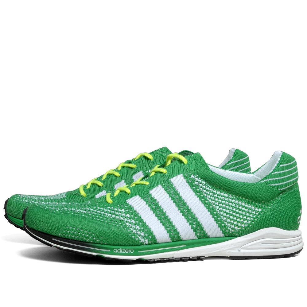 Adidas Adizero PrimeKnit 'Honolulu Marathon' - Prime Green & Running White