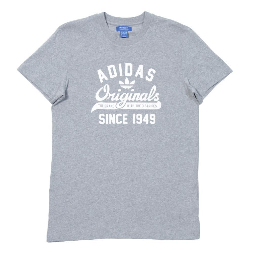 Adidas Originals Sport Tee - Medium Grey Heather
