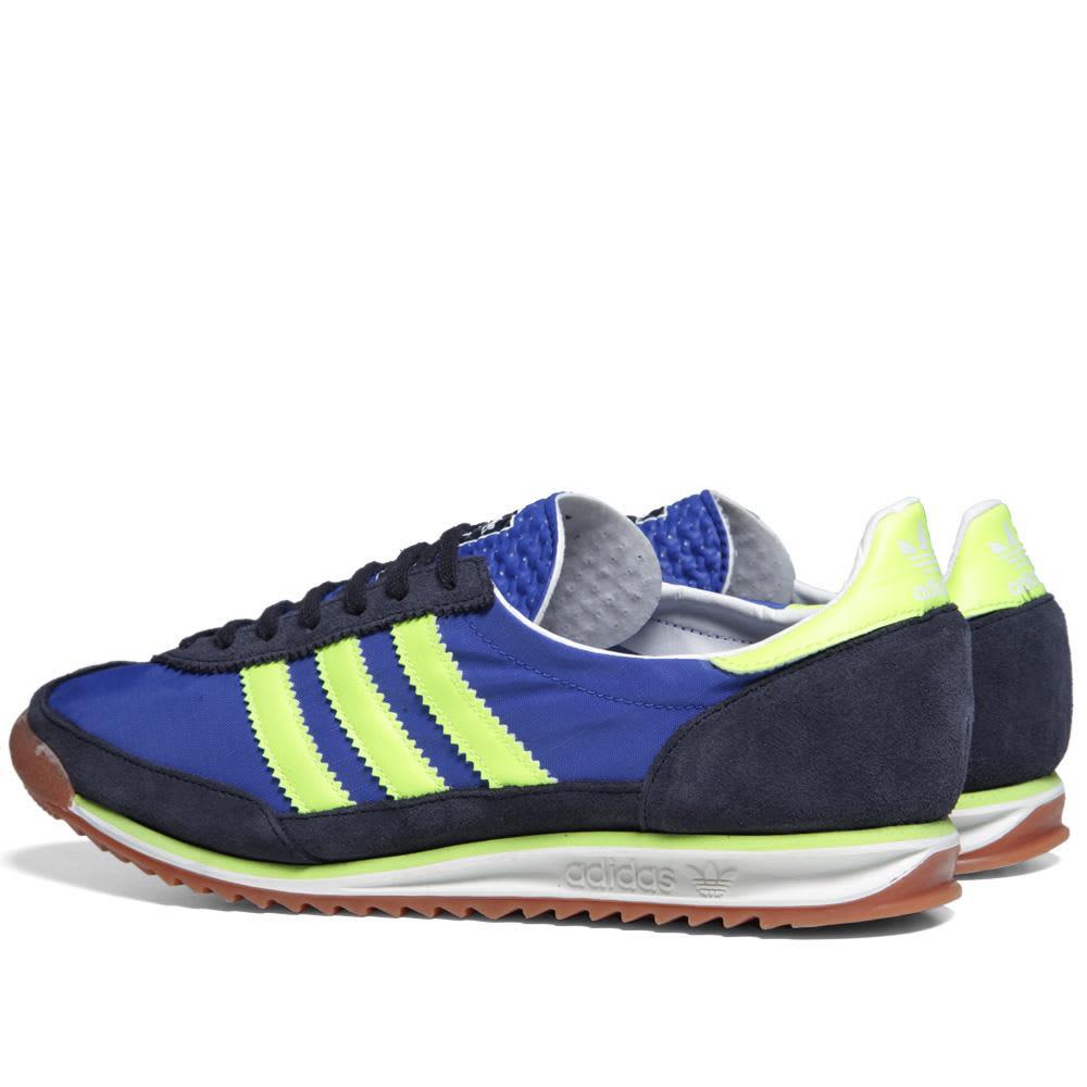 Adidas SL72  - True Blue & Electricity