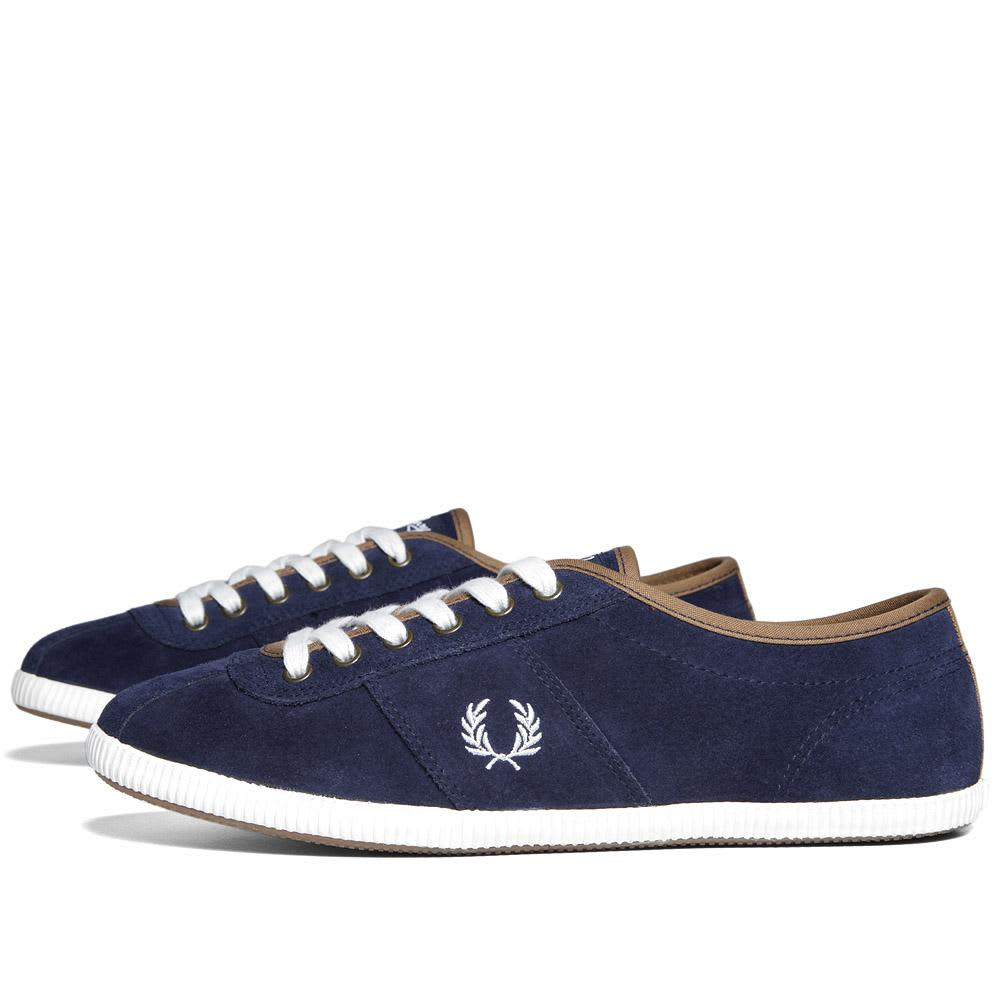 Fred Perry Hayes Suede - Carbon Blue