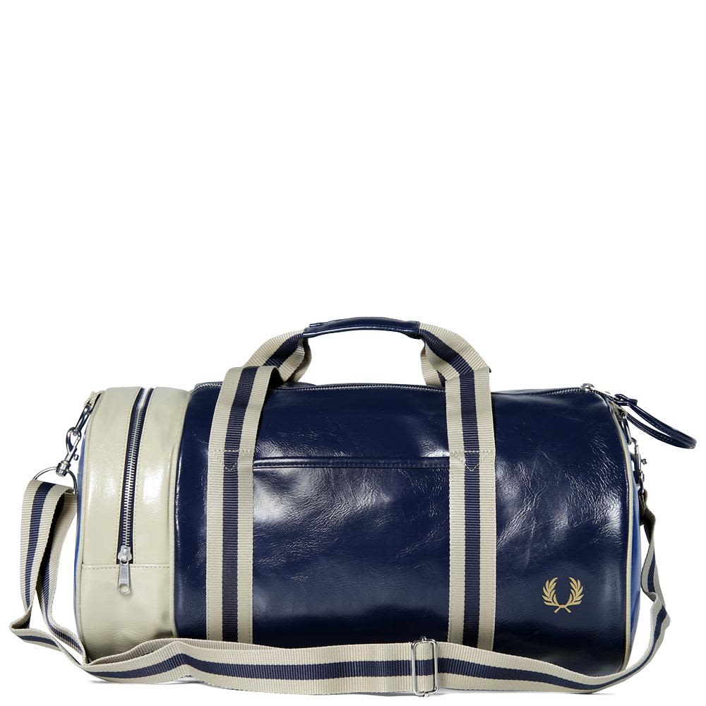 Fred Perry Classic Barrel Bag - Navy Marl