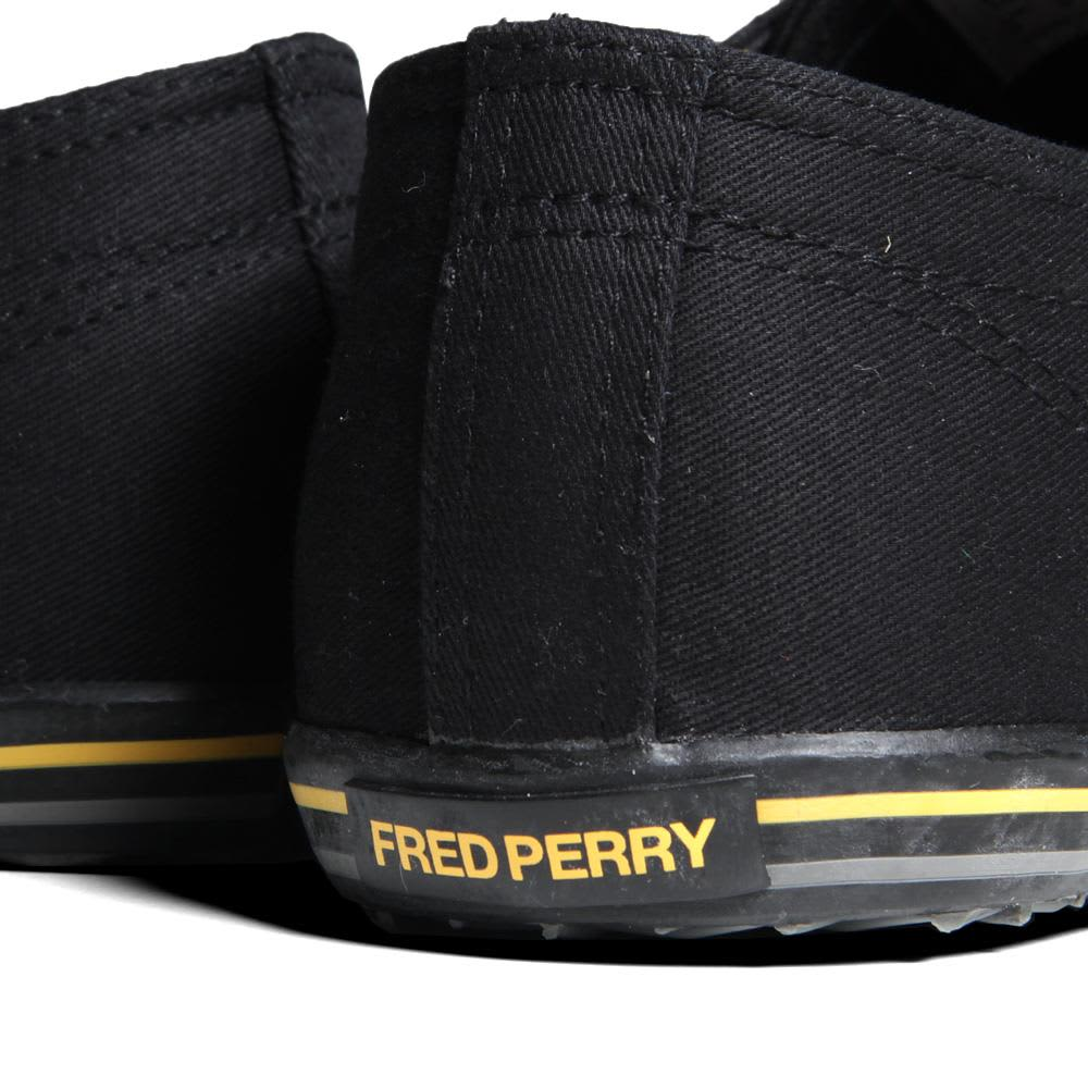 Fred Perry Kingston Twill Tipped - Black