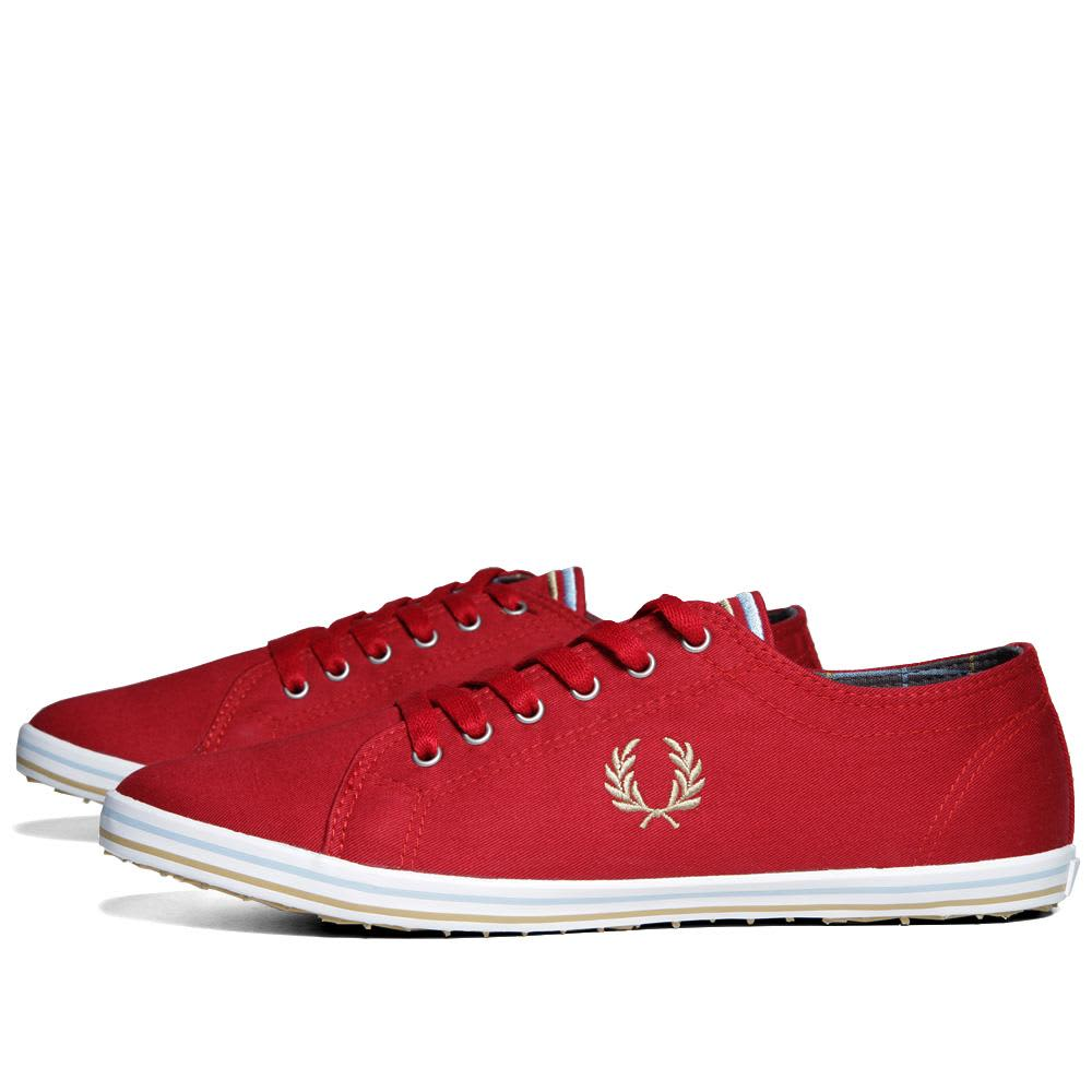 Fred Perry Kingston Twill Tipped - Blood