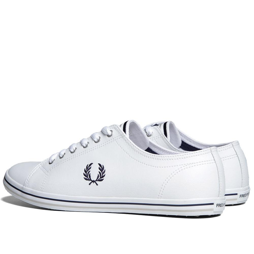 Fred Perry Kingston Leather - White