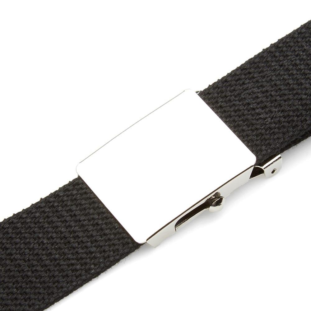 Mastermind Japan Canvas Belt - Black