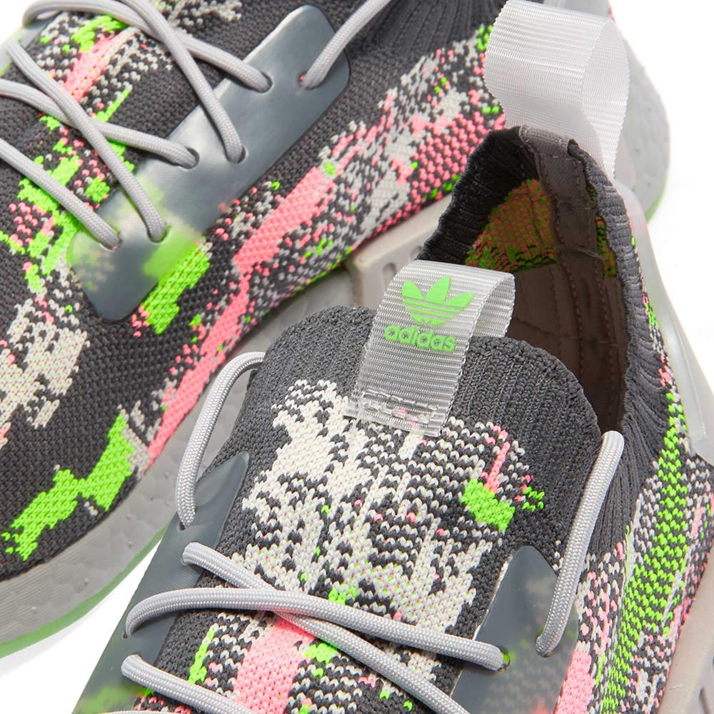 Adidas NMD_R1 PK - Grey & Hyper Pop