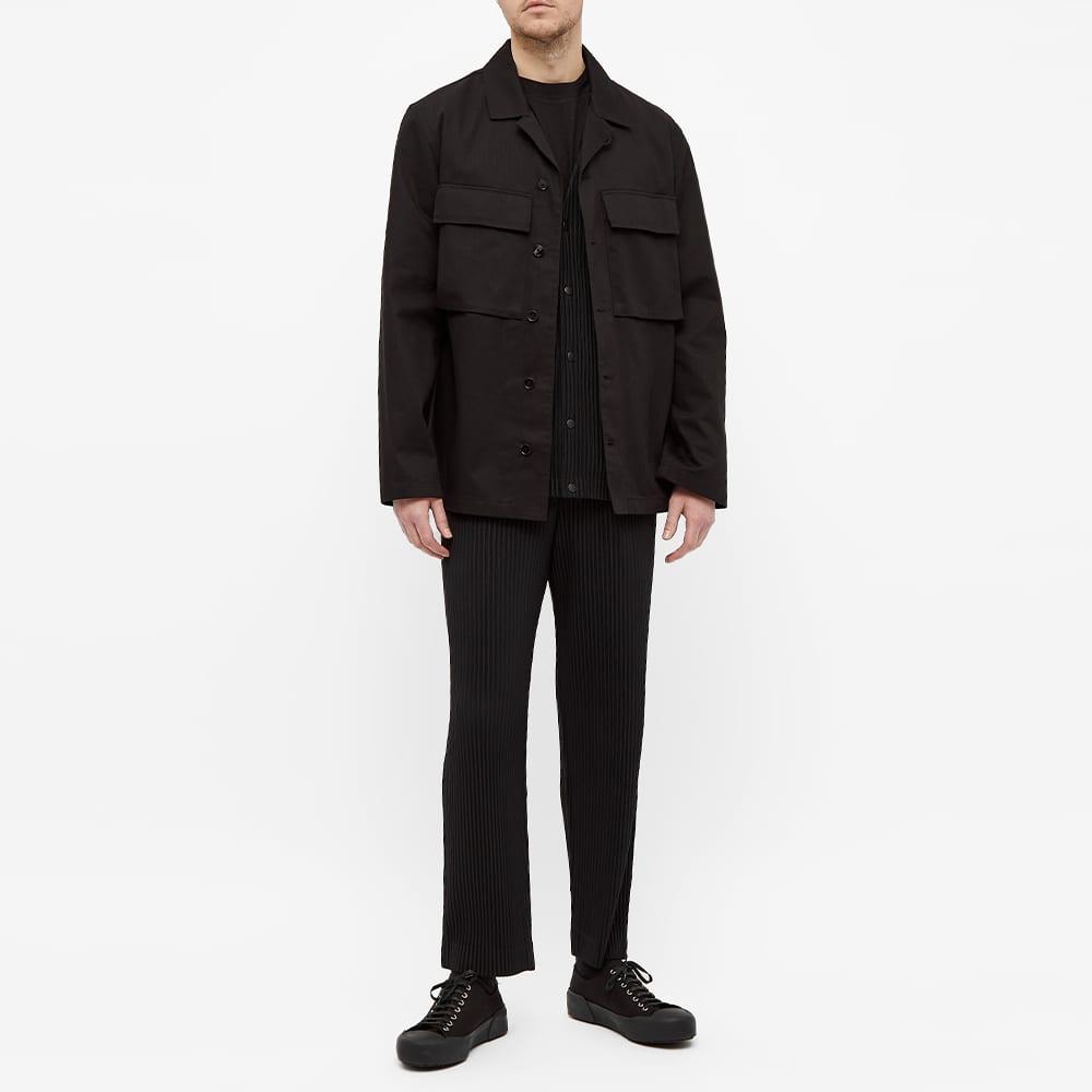 Homme Plissé Issey Miyake Pleated Liner Jacket - Black