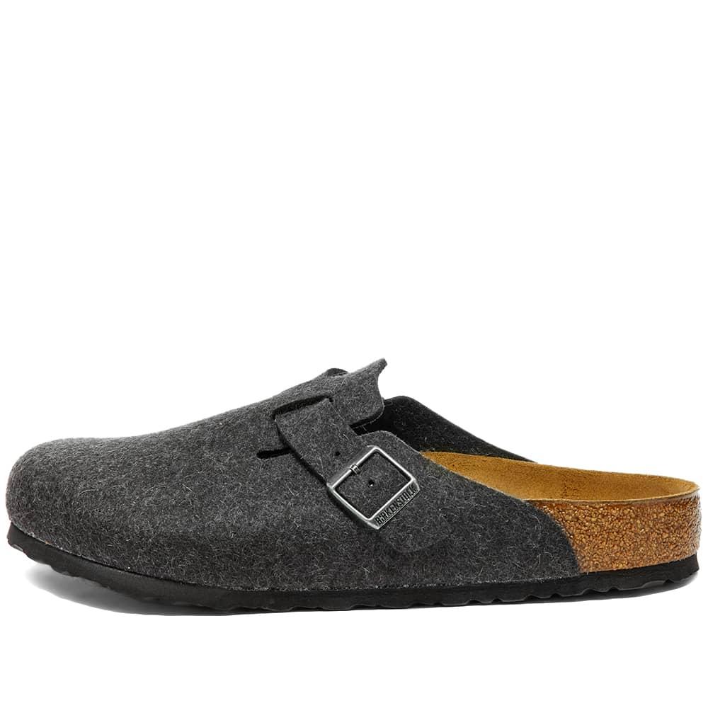 Birkenstock Boston - Anthracite Wool
