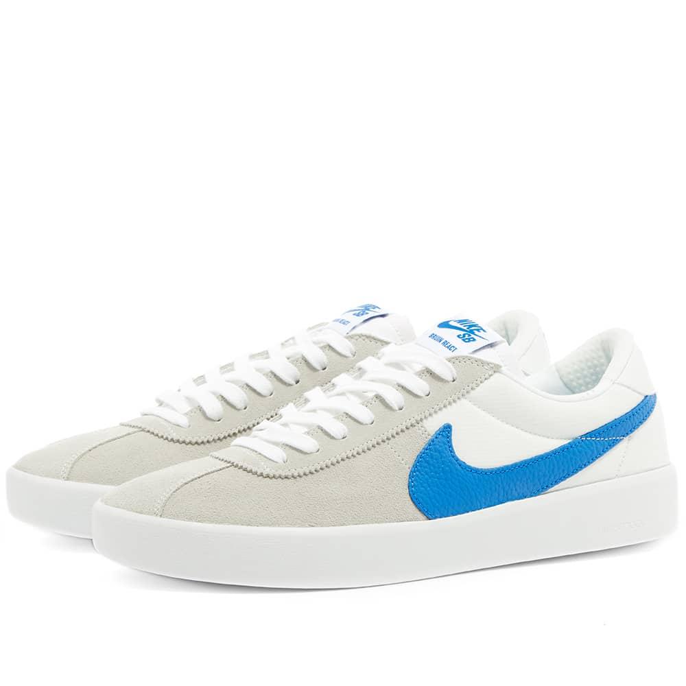 Nike SB Bruin React - White & Blue