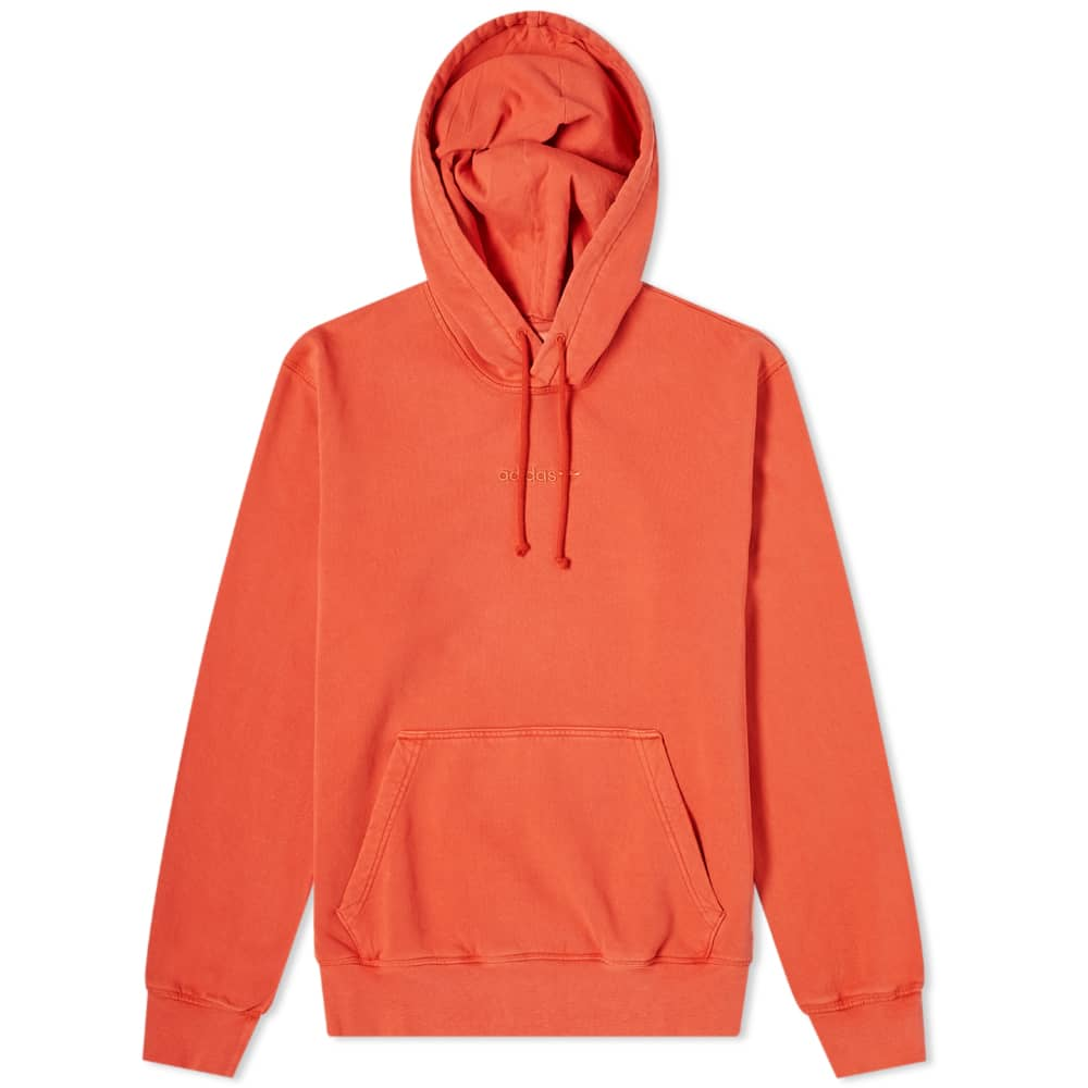 Adidas Garment Dye Hoody - Orange
