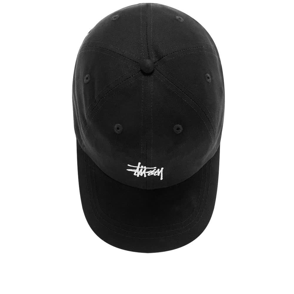 Stussy Stock Low Pro Cap - Black