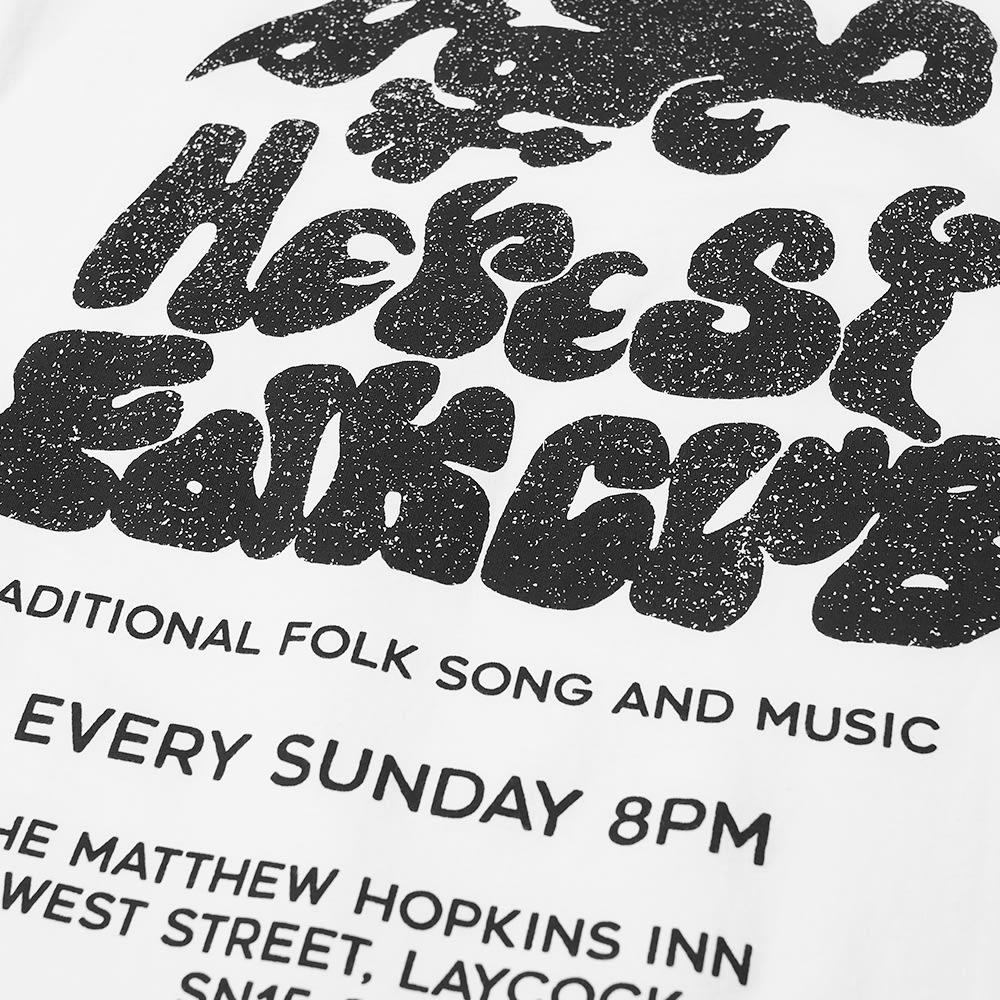 Heresy Folk Club Tee - White