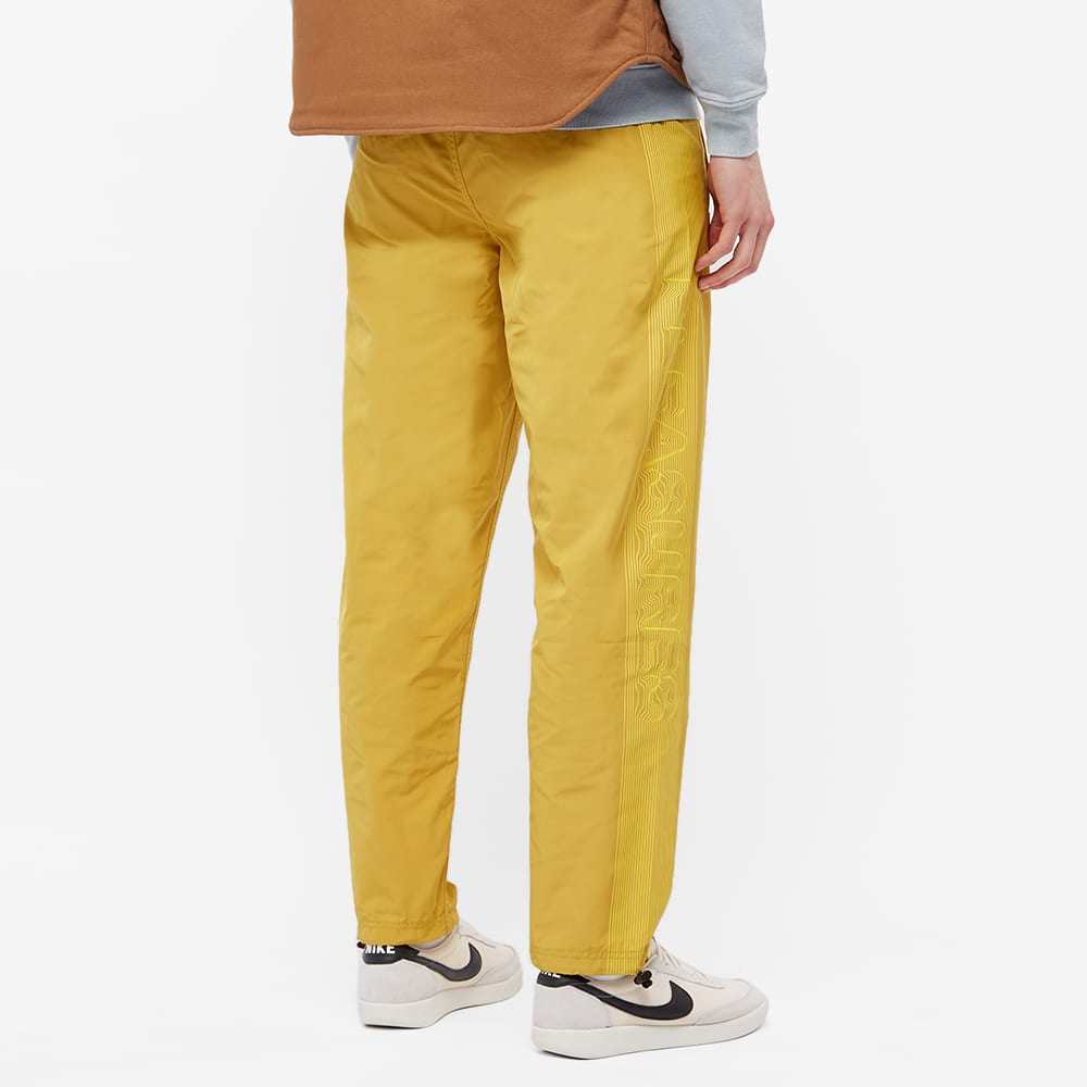 PLEASURES Decline Track Pant - Dark Yellow