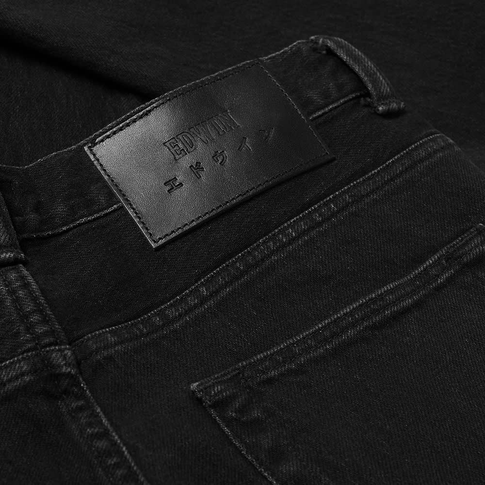 Edwin Universe Cropped Pant - Black