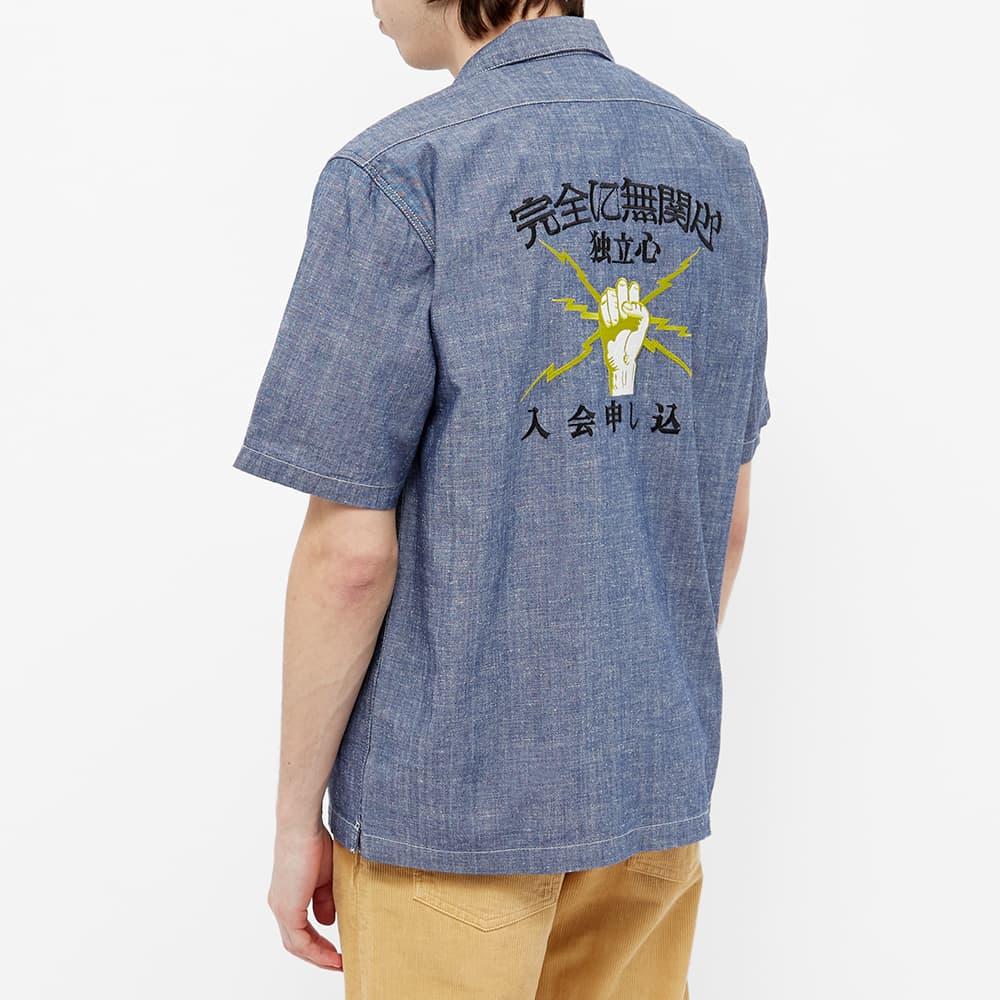 Edwin Autonomous Lightning Fist Vacation Shirt - Chambray