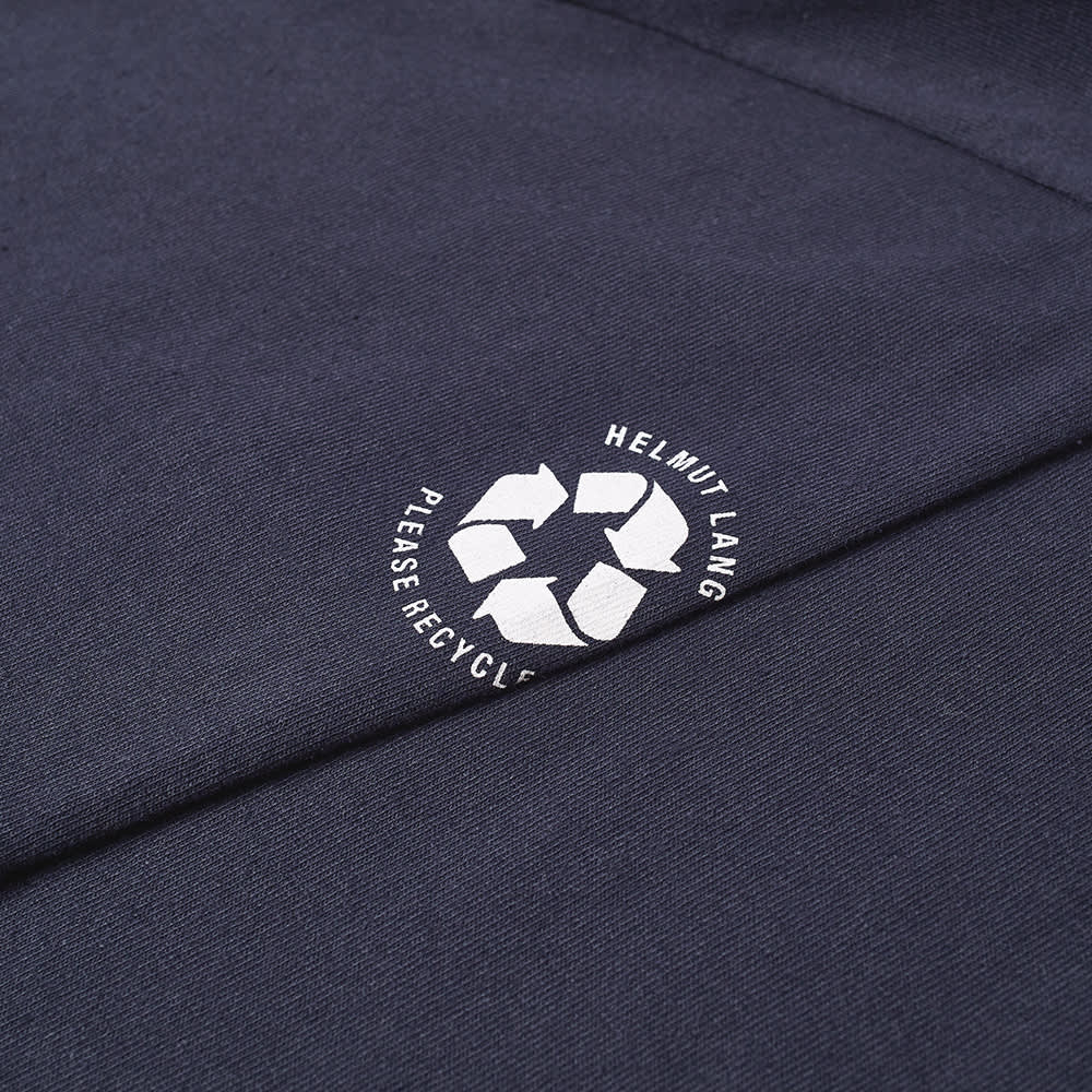 Helmut Lang Recycled Label Tee - Admiral Blue