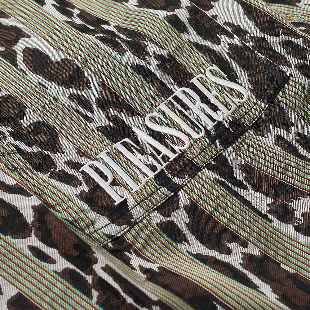 PLEASURES Bloom Striped Beach Pant - Black