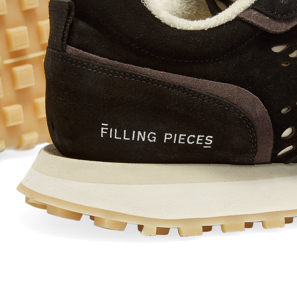 Filling Pieces Crease Runner Wind Sneaker - Black & Grey