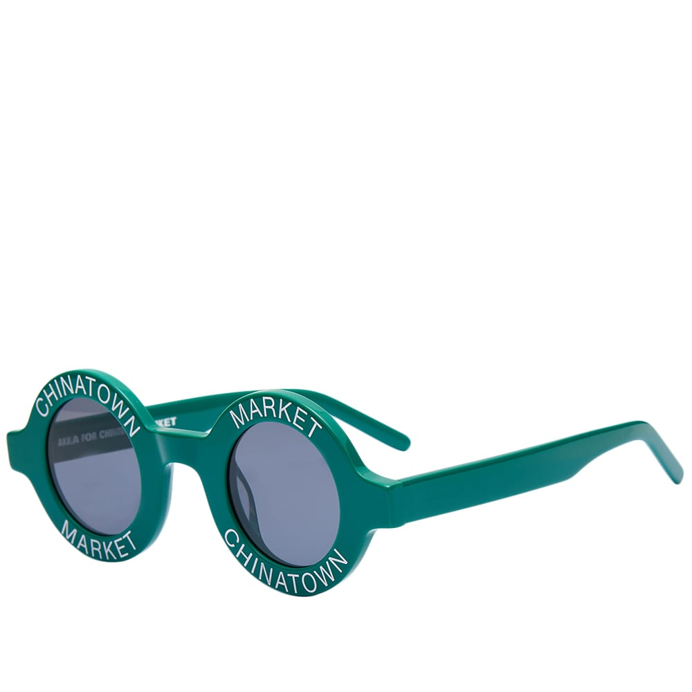 AKILA x Chinatown Market Coco Sunglasses - Green