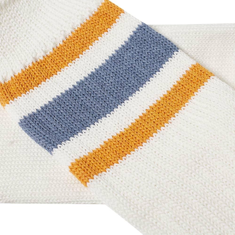 Anonymous Ism Recover 3 Stripes Crew Sock - Indigo