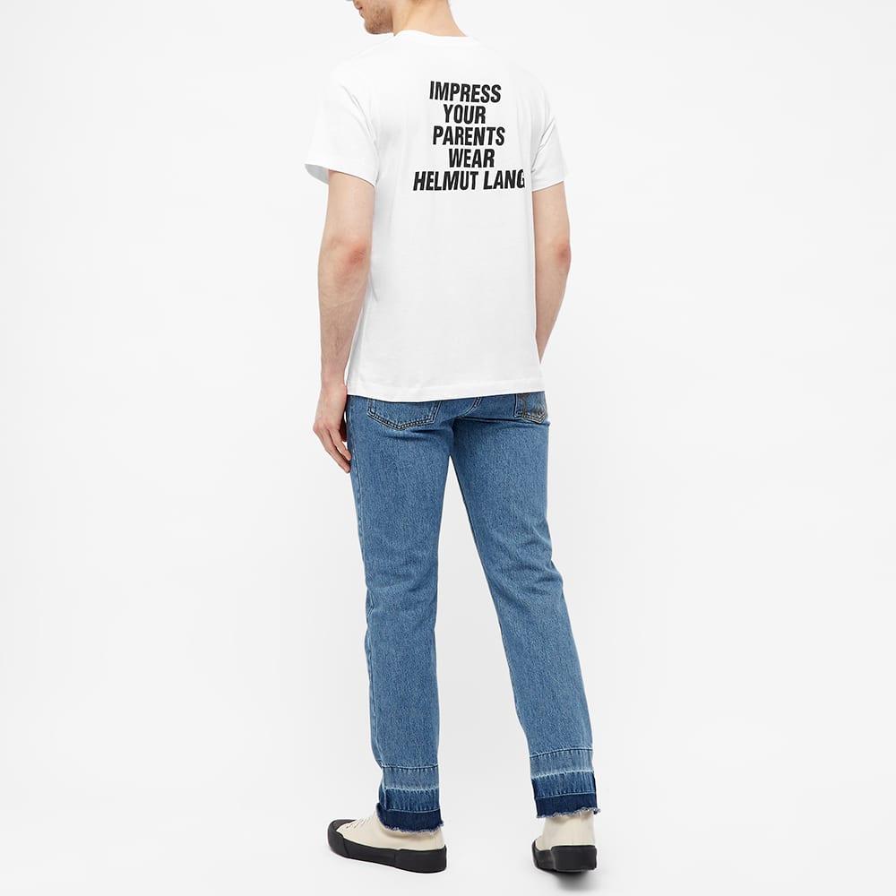 Helmut Lang Impress Your Parents Tee - Chalk White