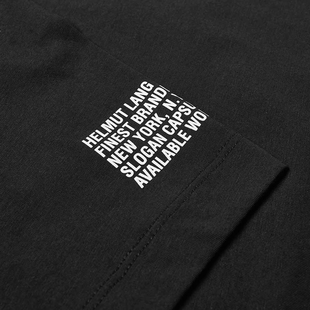 Helmut Lang Impress Your Parents Tee - Basalt Black