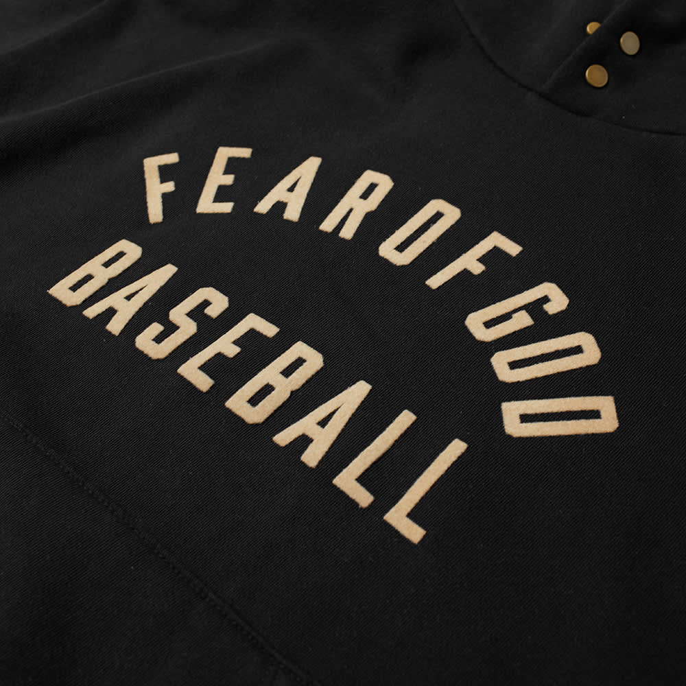 Fear of God Baseball Hoody - Black