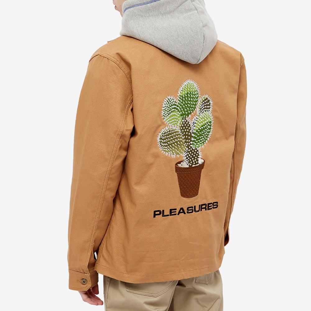 PLEASURES Spike Chore Jacket - Khaki